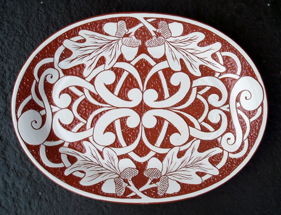 Garden Gate Platter - $ 95.
