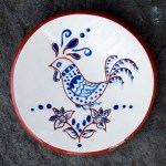 Blue Chicken Tea Dish - $8.