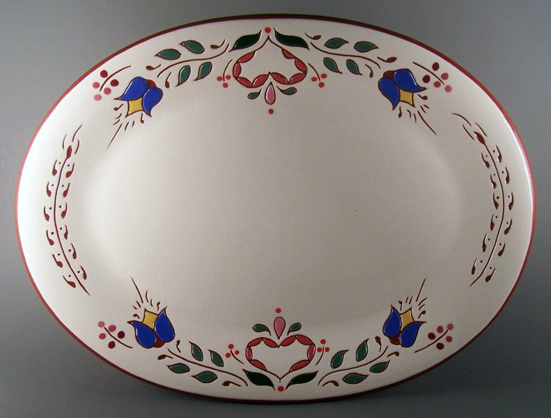 10 in. x 13 in. Pa. Dutch Platter - $69