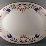 10 in. x 13 in. Pa. Dutch Platter - $69