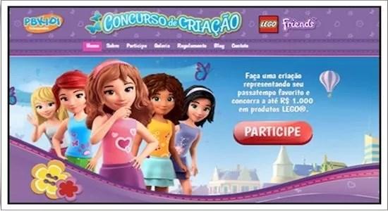Lego Oferece Prêmios em CONCURSO DE CRIAÇÃO - Rede da Promoção