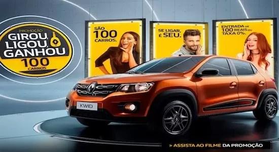 Cadastrar na Promoção GIROU, LIGOU, GANHOU Renault - Rede da Promoção