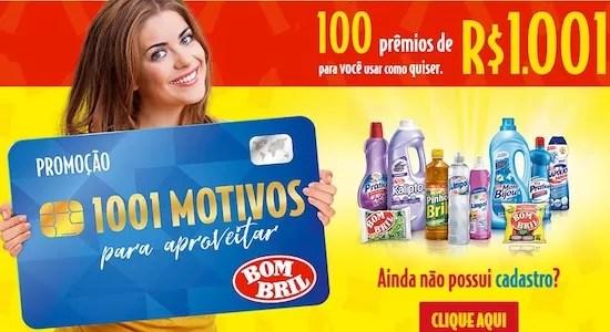 Promoção 1001 Motivos Para Aproveitar BOMBRIL - Rede da Promoção