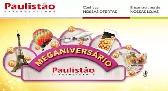 Paulistão Supermercado Promoção Eu Escolho Meu Prêmio