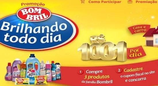 Cadastrar Promoção BomBril Brilhando Todo Dia - Rede da Promoção