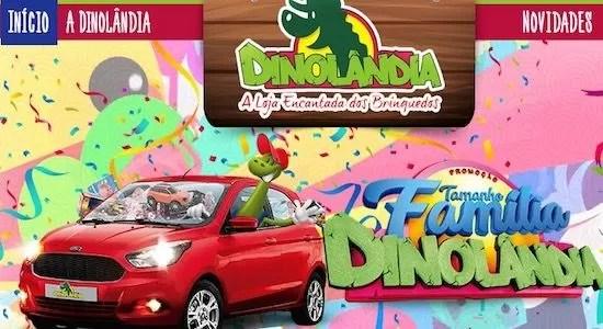 Promoção Tamanho Família Dinolândia Infonews Brinquedos - Rede da Promoção