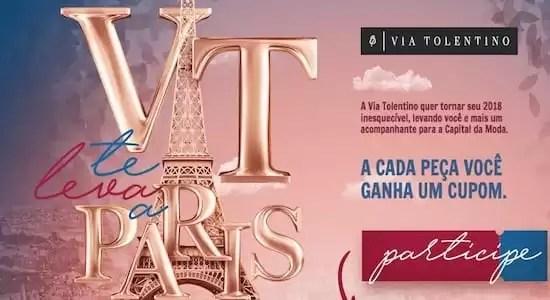 Promoção Via Tolentino Vai Te Levar a Paris - Rede da Promoção