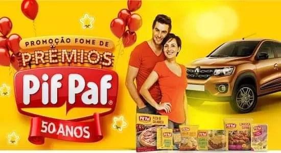 Promoção Fome de Prêmios Pif Paf 2018