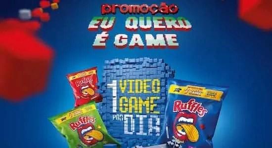 Promoção Ruffles 2018 Eu Quero é Game - Rede da Promoção