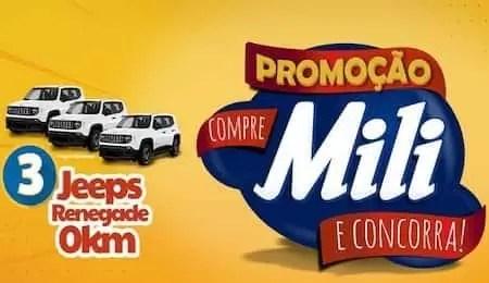 Promoção Compre Mili e Concorra - Rede da Promoção