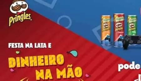 Promoção Pringles Festa Na Lata e Dinheiro Na Mão - Rede da Promoção