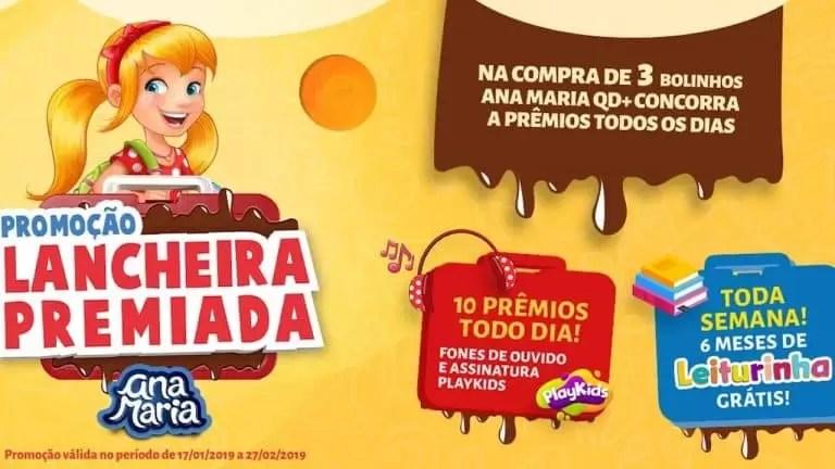 Promoção Ana Maria Lancheira Premiada - Rede da Promoção
