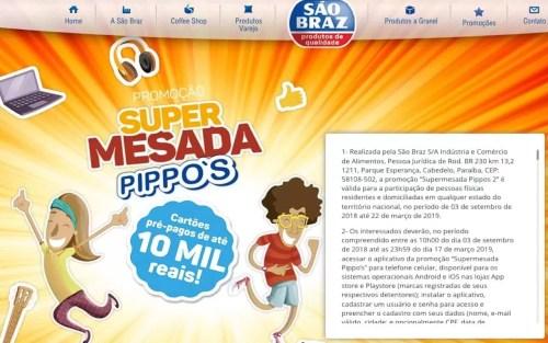 Promoção Pippo's 2019 Com Sorteios Gratuitos