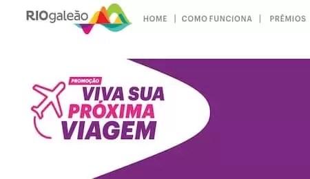 RIOGaleão Viva Sua Próxima Viagem 2019 - Rede da Promoção