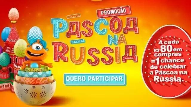 Cadastrar Promoção Páscoa na Russia - Rede da Promoção