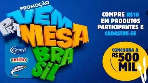 Promoção Vem Pra Mesa Brasil