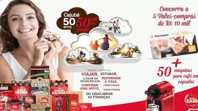 Aniversário Cajubá 50 Anos 50 Mil em Prêmios