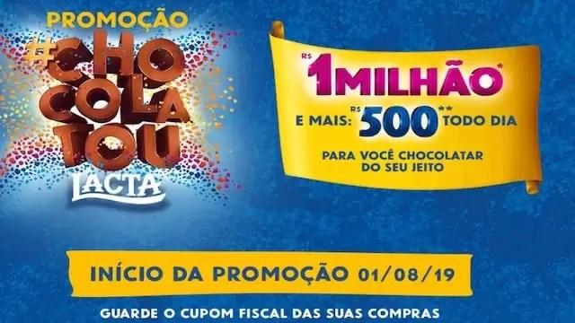 Promoção #Chocolatou Lacta