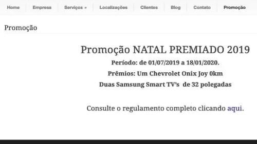 Promoção Natal Premiado 2019 VS Propaganda em Botucatu SP