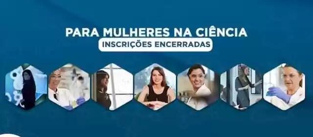 Unesco e loreal em apoio às mulheres da ciência
