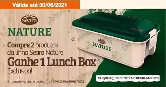 Promoção Lunch Box Seara Nature