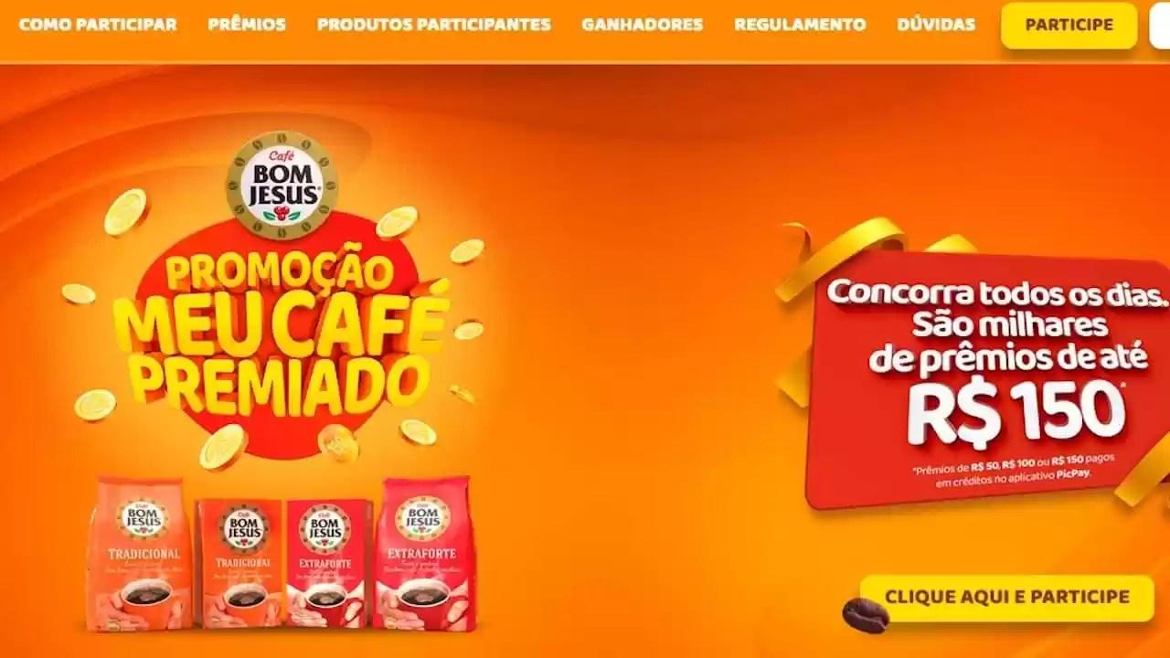Meu Café Premiado da Promoção Café Bom Jesus