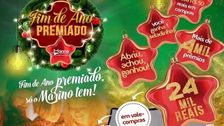 Promoção Marino Supermercado Fim de Ano Premiado