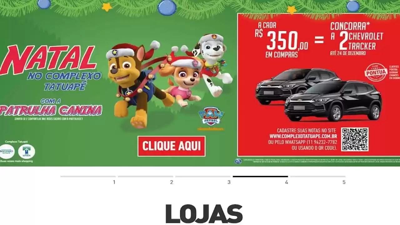 Shopping Boulevard Tatuape Natal 2020