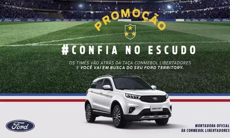 Promoção FORD Confia no Escudo