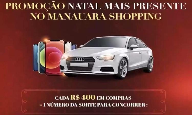 Promoção Manauara Shopping 2020 Natal Mais Presente