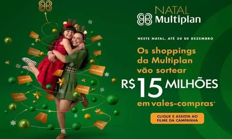Promoção Multiplan Natal 2020 são 15.000. Milhões de Reais em Vale-Compras