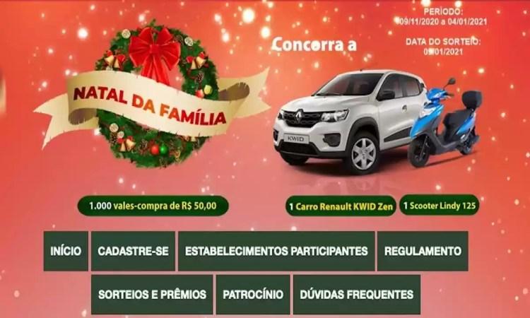 Promoção Natal Jundiaí SP com o nome de Promoção Natal da Família ACE Jundiaí