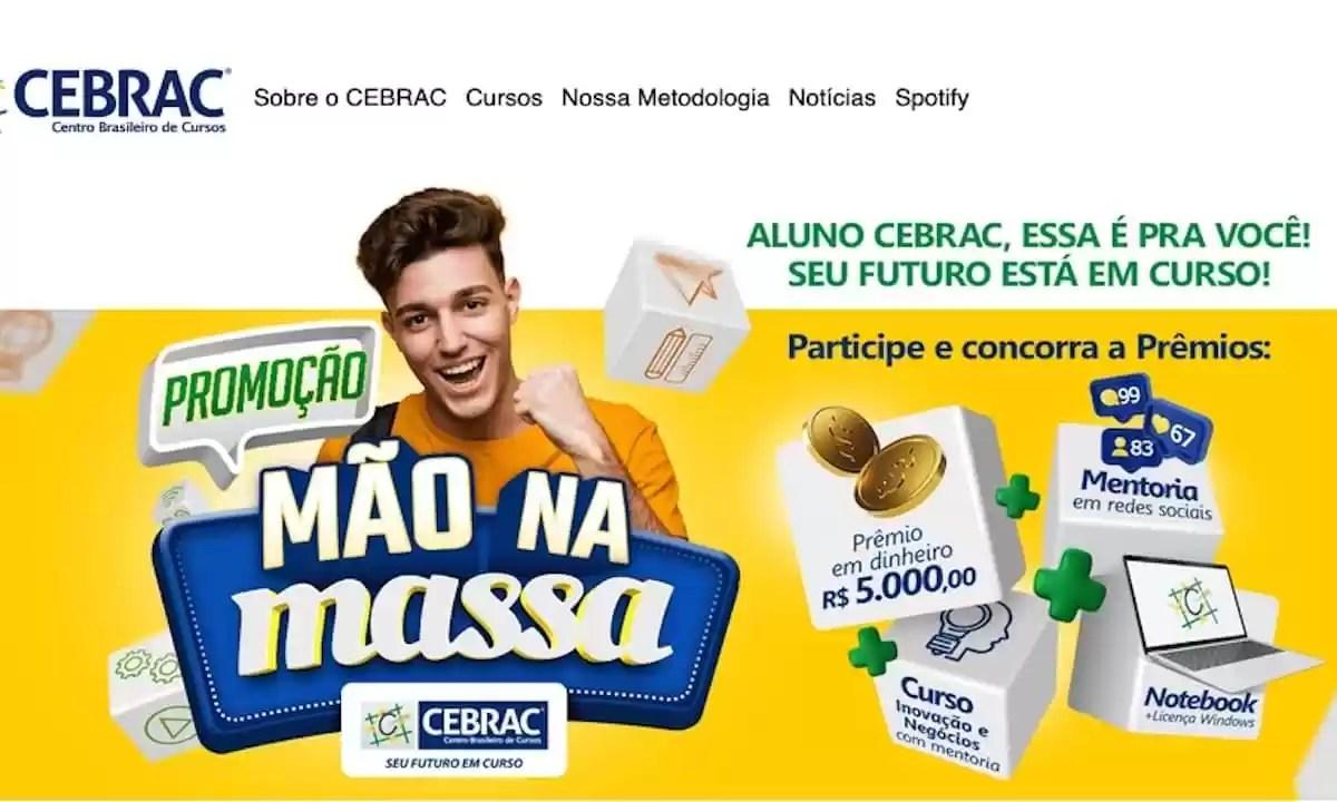 Promoção CEBRAC 2021 Mão na Massa