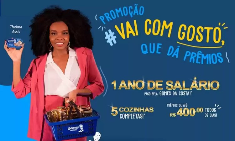 Promoção Gomes da Costa #Vai Com Gosto Que Dá Prêmios