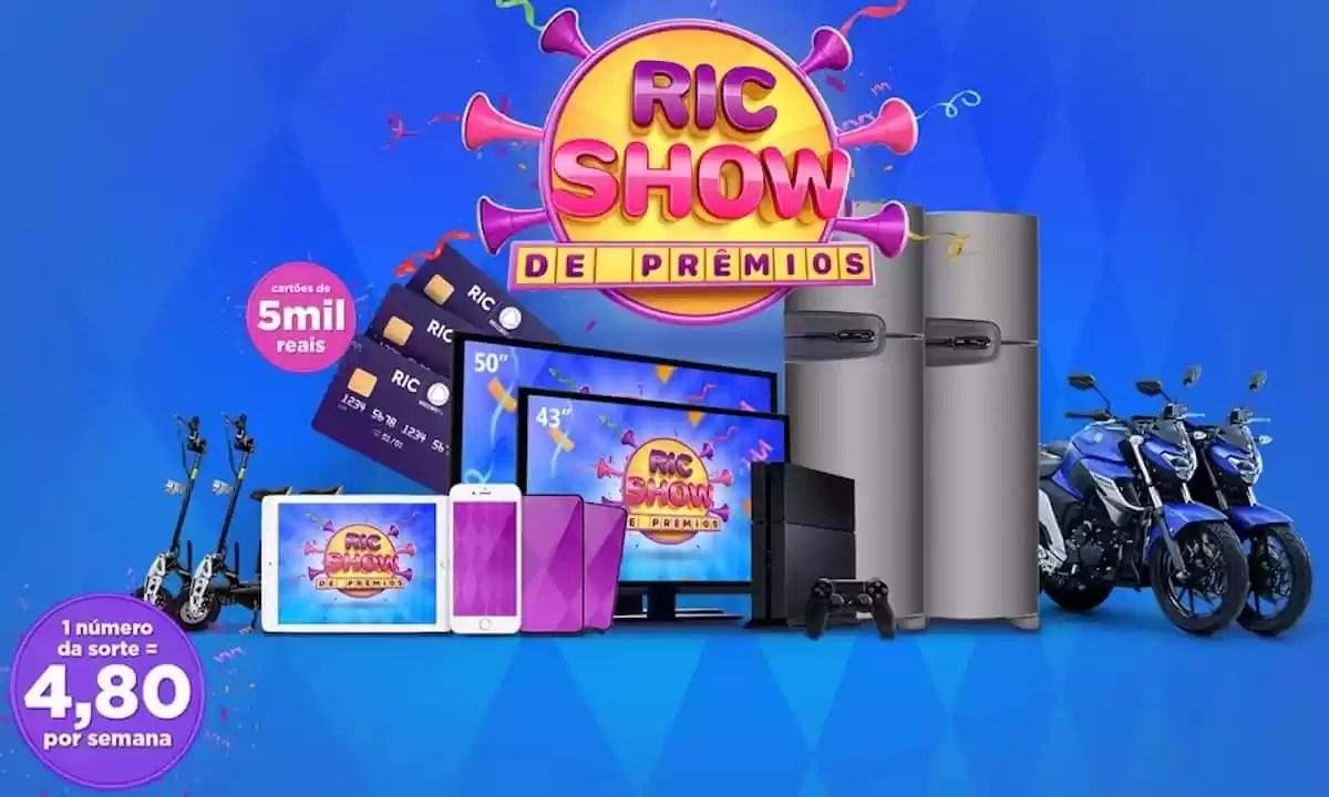 Promoção Ric Show Carnaval de Prêmios