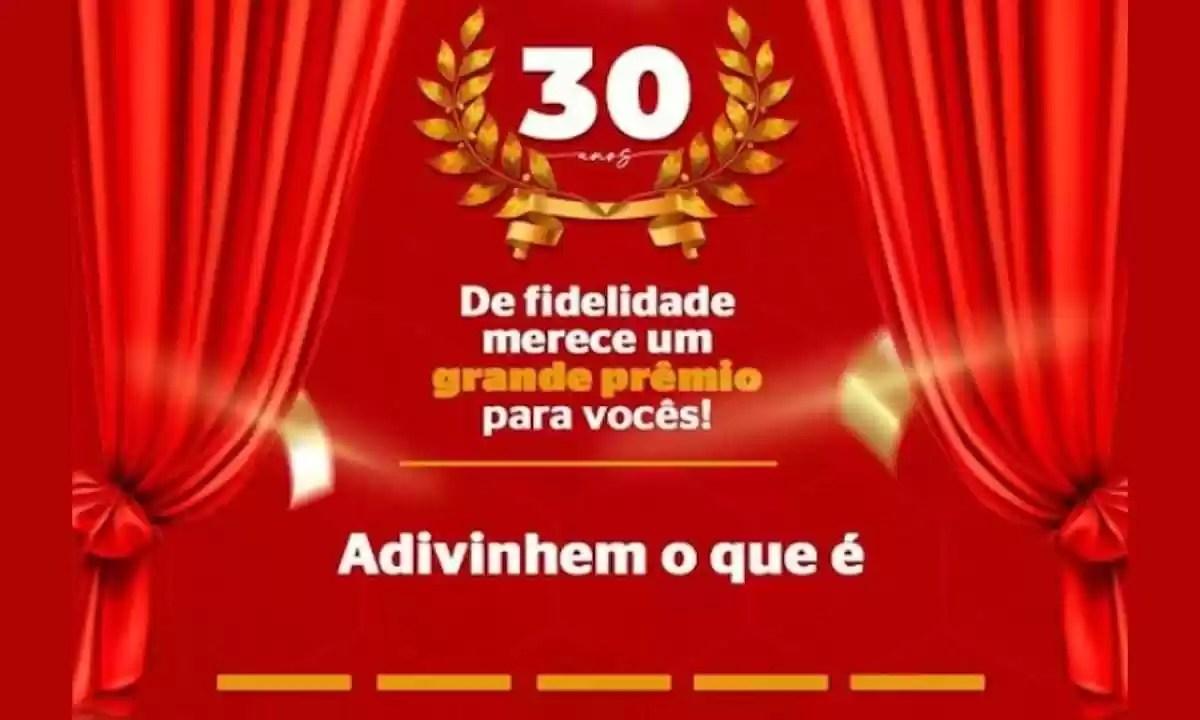 Promoção Aniversário Pharmativa 30 Anos ao Seu Lado