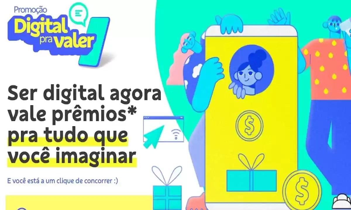 Promoção BB Digital Pra Valer