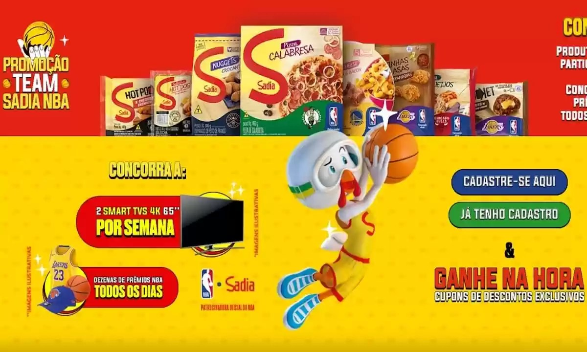 Promoção Team Sadia NBA 2021