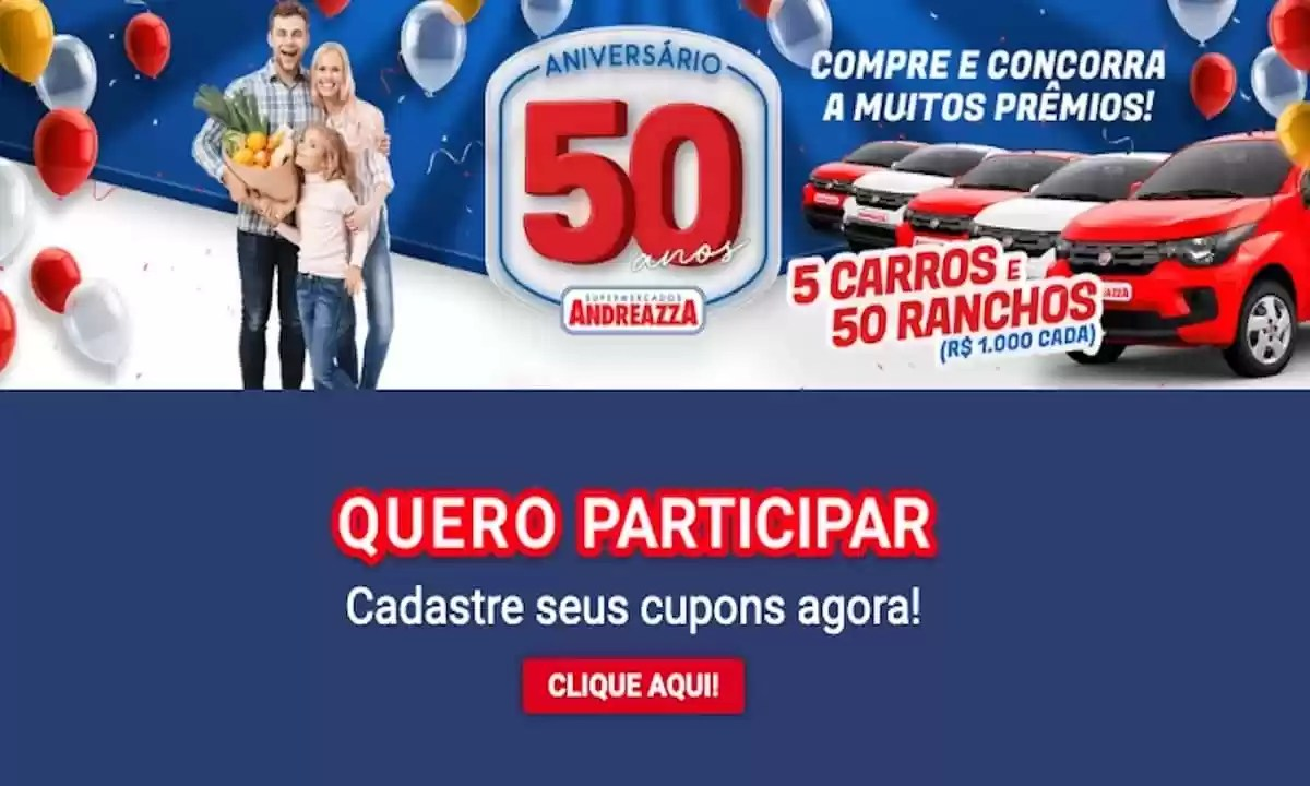 Promoção Supermercados Andreazza