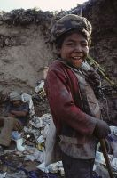 Many children live in the dumps of Guatemala