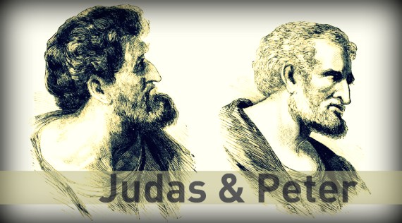 Peter and Judas