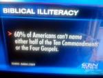 Increasing our Biblical Literacy