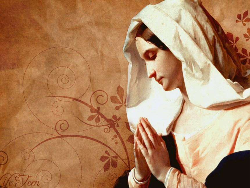 Luke 1 Virgin Mary Mother of Jesus
