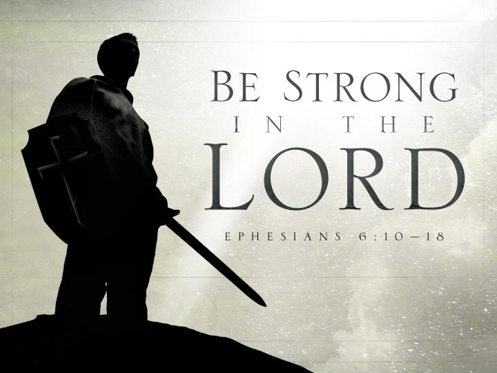 Ephesians 6:10 - Power Up! | Redeeming God