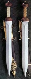 Roman soldier sword