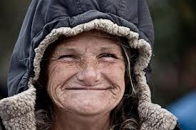 Homeless smile