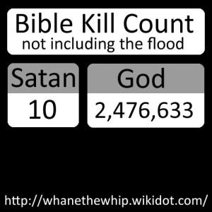 Bible Kill Count