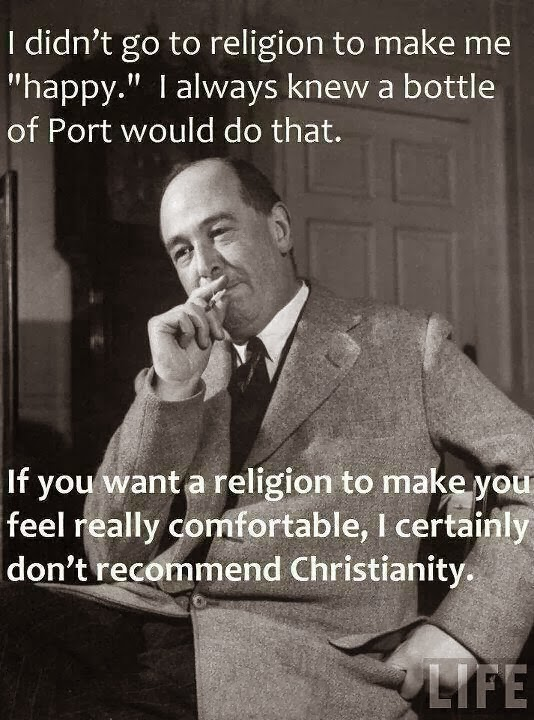 CS Lewis on Christian Happiness