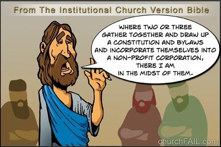 Church Fail Institutional Church