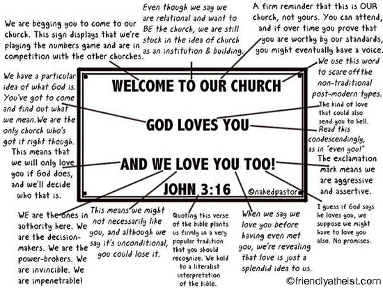 exegeting the church sign